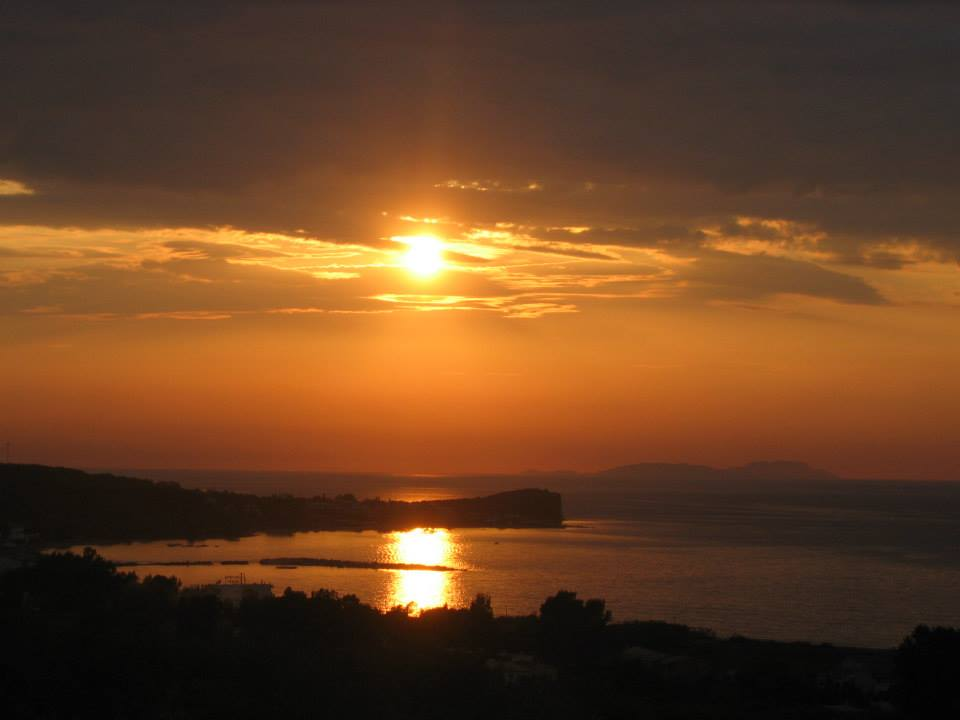 Ausblick - Korfu Ferienwohnung Flora, Acharavi, Korfu, Griechenland, KorfuCorfu.de
