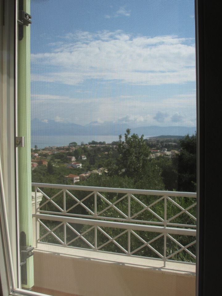 Blick - Korfu Ferienwohnung Flora, Acharavi, Korfu, Griechenland, KorfuCorfu.de