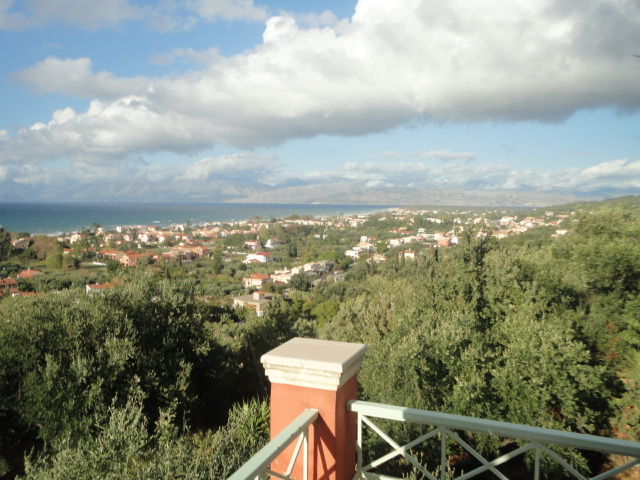 Meerblick - Korfu Ferienwohnung Flora, Acharavi, Korfu, Griechenland, KorfuCorfu.de