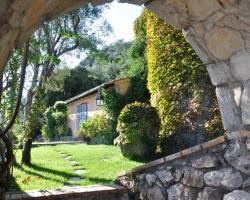 Garten - Korfu Luxusvilla Villa Melolia, Agios Markos, KorfuCorfu.de