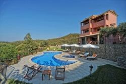 Pool - Korfu Villa Mare e Monti, Almiros, KorfuCorfu.de