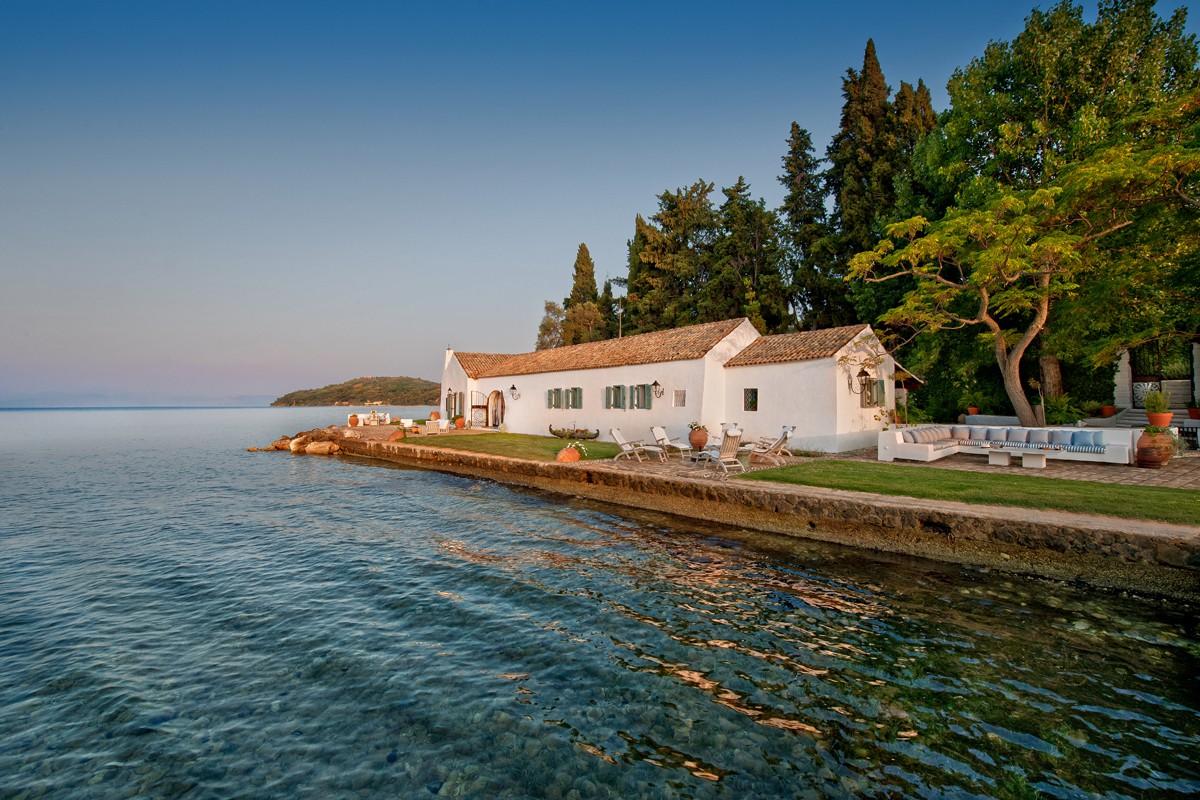 Aussenansicht - Korfu Luxusresort Villen Aphrodite, Agia Pelagia, Korfu
