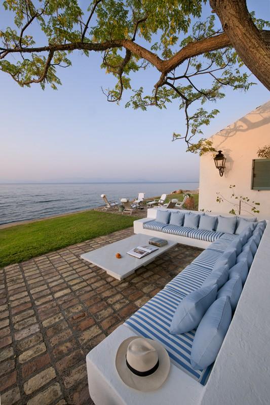 Aussenplatz - Korfu Luxusresort Villen Aphrodite, Agia Pelagia, Korfu