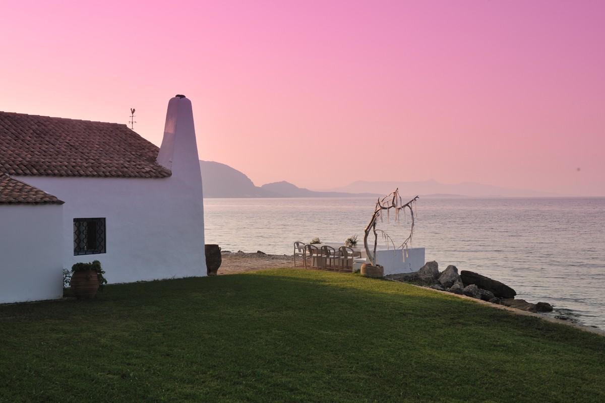Garten - Korfu Luxusresort Villen Aphrodite, Agia Pelagia, Korfu