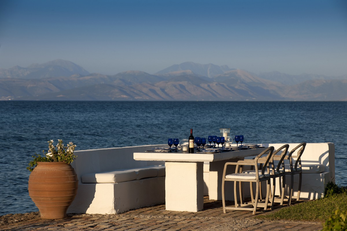Platz am Meer - Korfu Luxusresort Villen Aphrodite, Agia Pelagia, Korfu