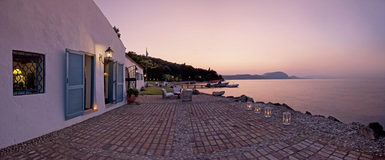 Veranda - Korfu Luxusresort Villen Aphrodite, Agia Pelagia, Korfu