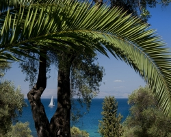 Meerblick - Korfu Luxusresort Villen Aphrodite, Agia Pelagia, Korfu