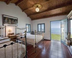 Schlafzimmer - Korfu Luxusresort Villen Aphrodite, Agia Pelagia, Korfu