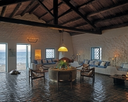 Wohnzimmer - Korfu Luxusresort Villen Aphrodite, Agia Pelagia, Korfu