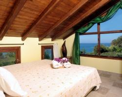 Schlafzimmer oben - Korfu Strandvilla Meliti, Kanouli, Agios Matheos, Korfu, KorfuCorfu