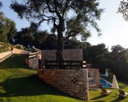 Aussenansicht - Korfu Villa Steilküste, Agios Spiridon, Korfu, Griechenland