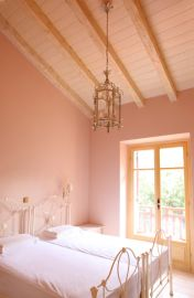 Schlafzimmer - Rote Villa, Korfu Villen Thalia, Agios Spiridon, Korfu, Griechenland