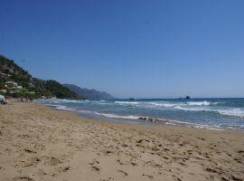 Strand von Pelekas, Korfu, Korfu Ferienhaus Haus am Meer, Griechenland, KorfuCorfu.de