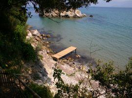 Strand - Korfu Villa Sankt Nikolas Strandhaus, Agios Spiridon, Korfu, Griechenland