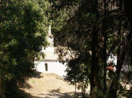 Das Kloster bei Nimfes, Korfu, Griechenland