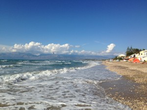 Strand von Acharavi - Korfu Ferienhaus Thea, Episkepsi, KorfuCorfu.de
