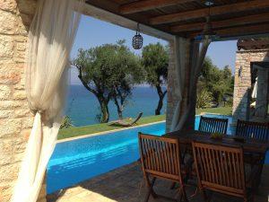 Korfu Hotelbewertungen, Korfu Luxusvilla Villa Steilküste, Agios Spiridon, Korfu, Griechenland, Korfu.Corfu.de