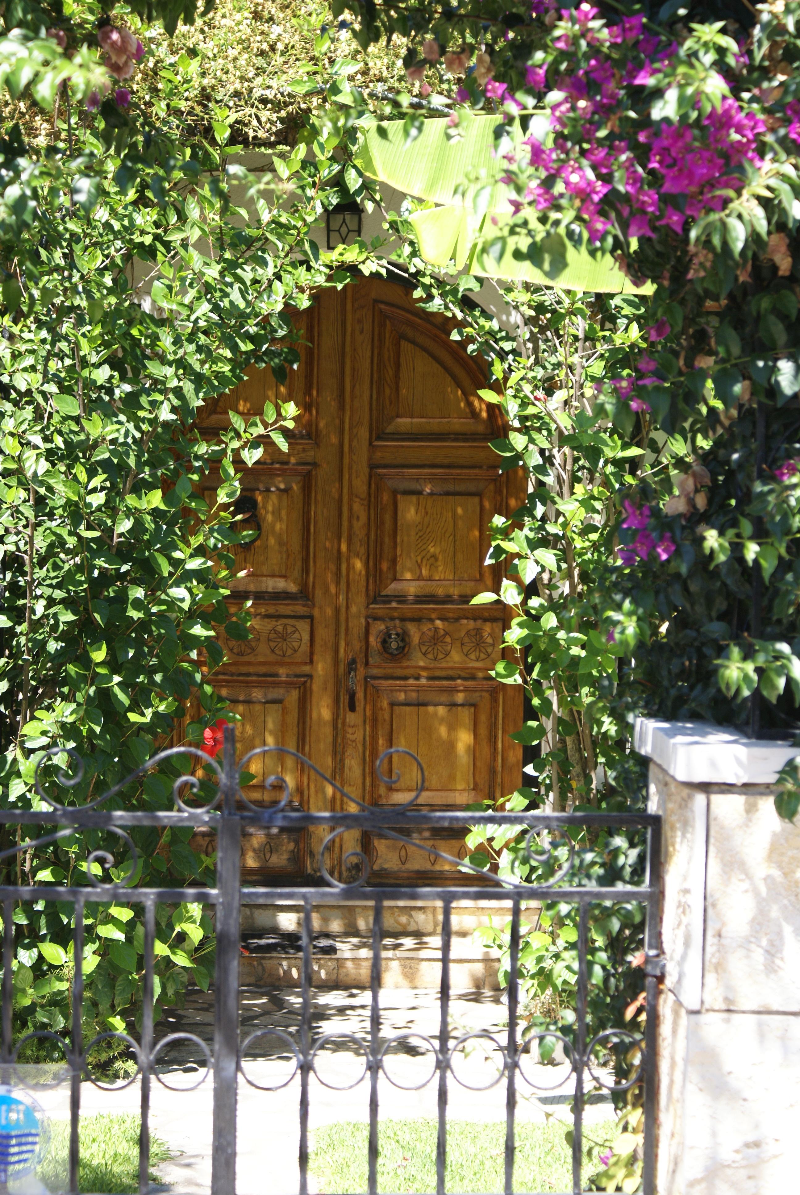 Eingang - Korfu Ferienhaus Villa Marco, Acharavi, KorfuCorfu.de
