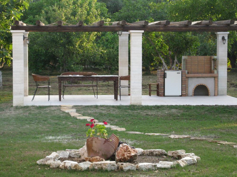 BBQ - Korfu Ferienwohnungen Villa Amalia, Acharavi