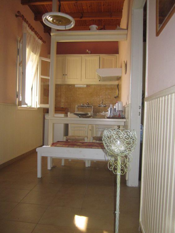 Küche - Korfu Ferienwohnungen Villa Amalia, Acharavi