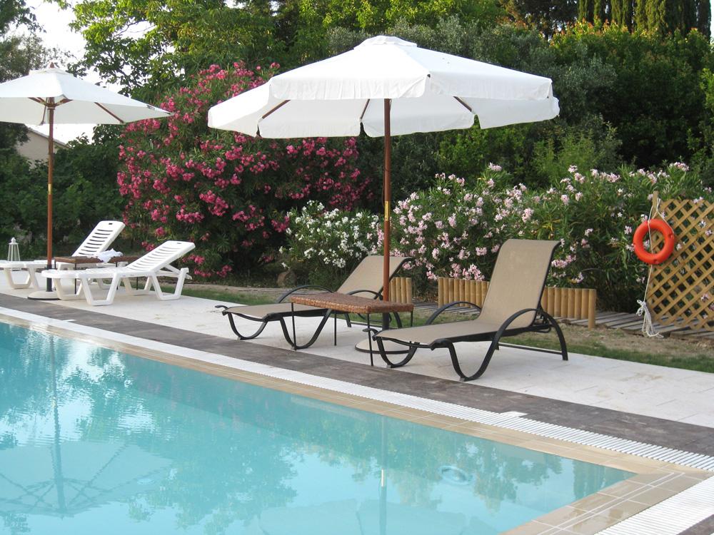 Pool - Korfu Ferienwohnungen Villa Amalia, Acharavi