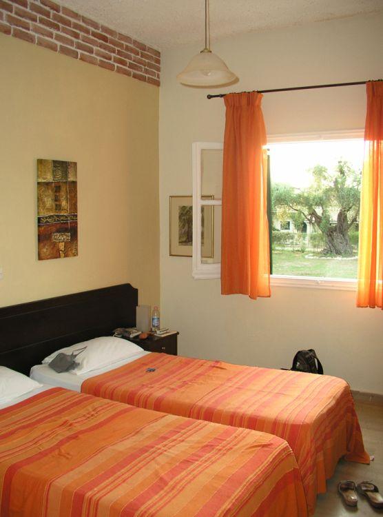 Schlafzimmer - Korfu Ferienwohnungen Villa Amalia, Acharavi
