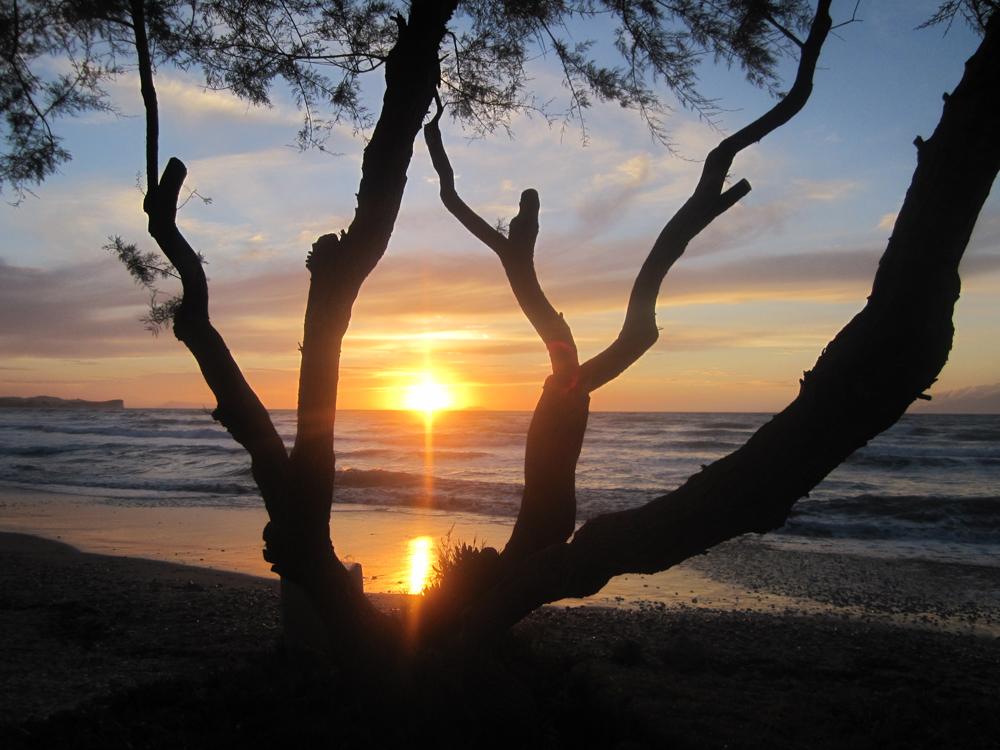 Sonnenuntergang - Korfu Ferienwohnungen Villa Amalia, Acharavi