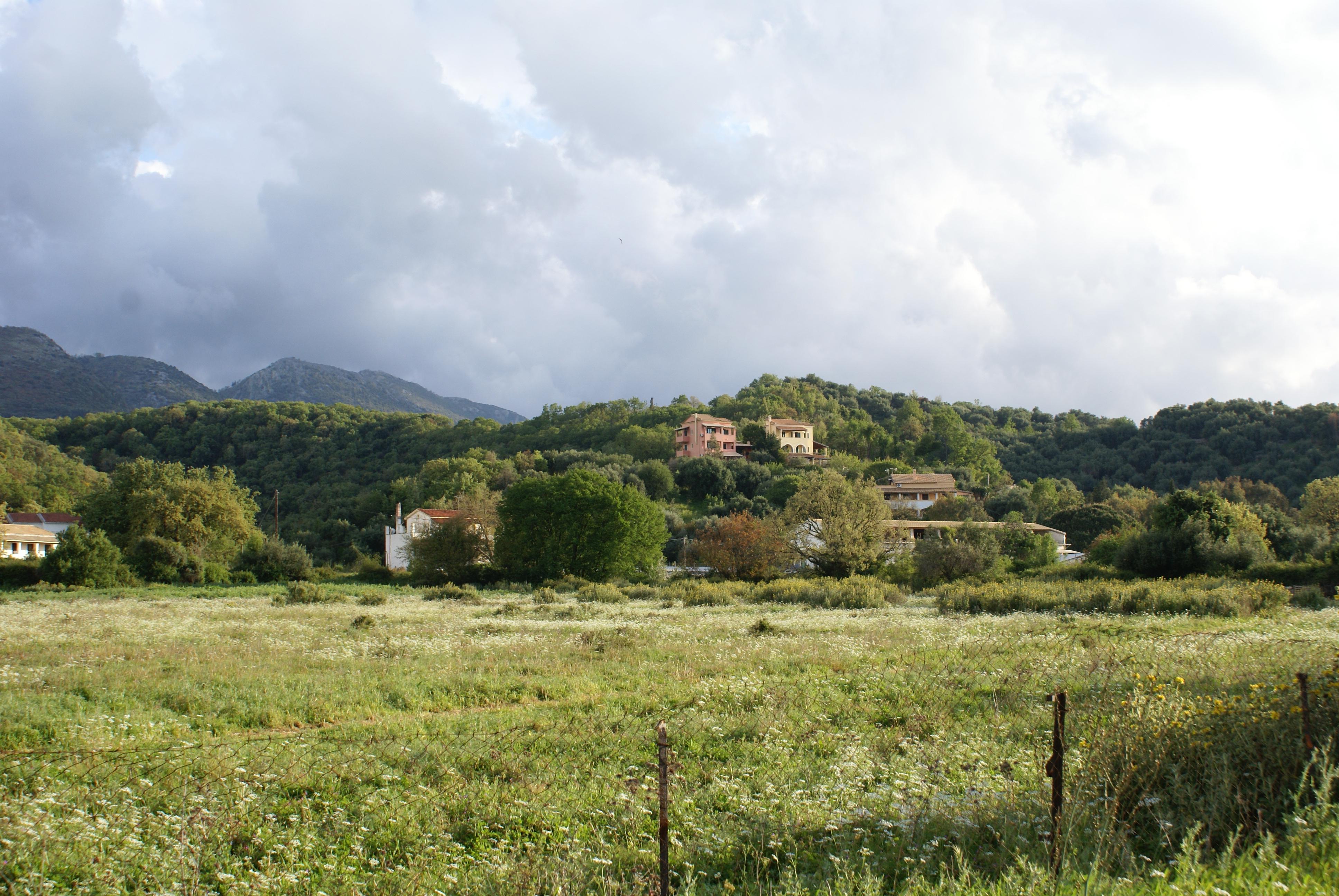 Lage - Korfu Villa Mare e Monti, Almiros, KorfuCorfu.de