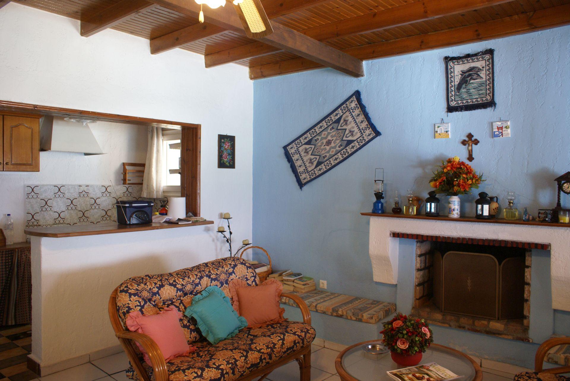 Korfu Ferienhaus Haus am Meer, Dechoumades - Agios Gordis, Korfu, KorfuCorfu