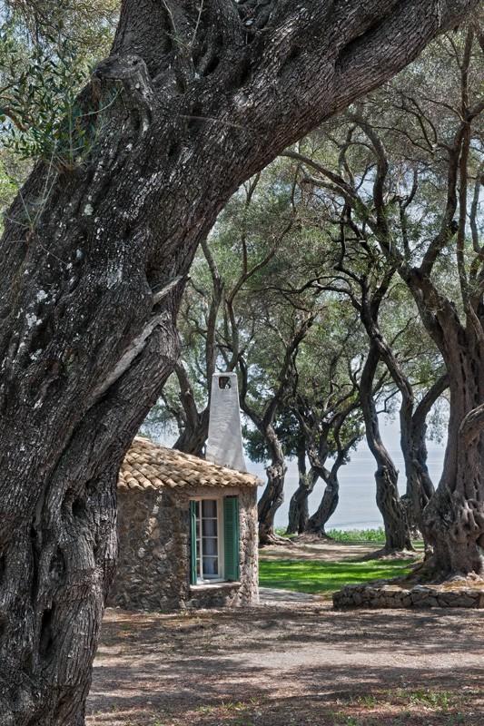 Rundhaus - Korfu Luxusresort Villen Aphrodite, Agia Pelagia, Korfu