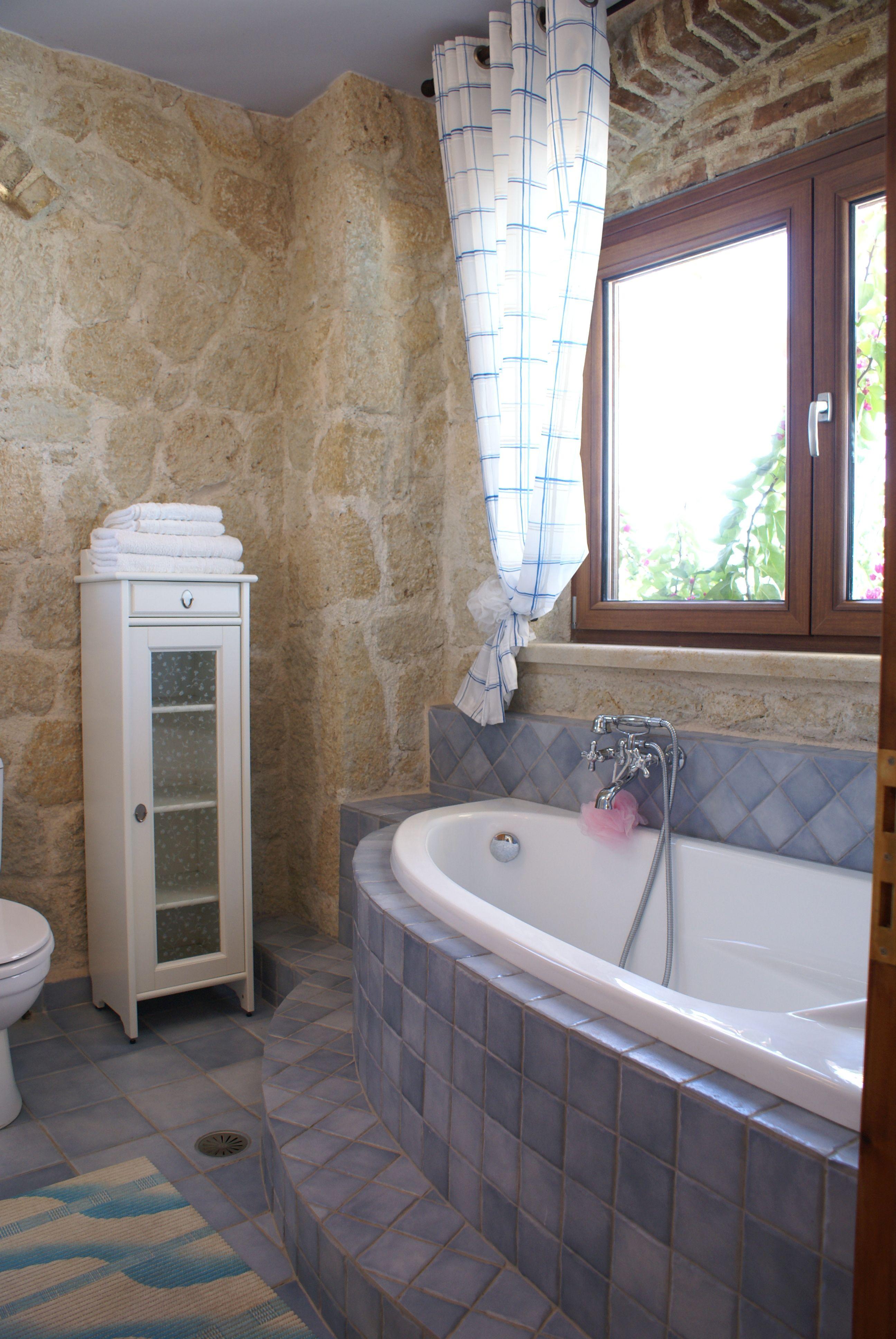 Bad unten - Korfu Luxusvilla Maria, Chalikounas, Korfu