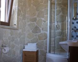 Duschbad oben - Korfu Luxusvilla Maria, Chalikounas, Korfu