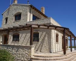 Seitenansicht - Korfu Luxusvilla Maria, Chalikounas, Korfu