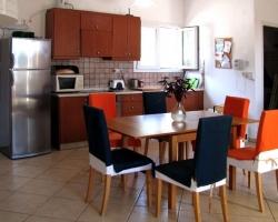 Küche - Korfu Strandvilla Villa Meer, Kalamaki, KorfuCorfu
