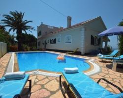 Pool - Korfu Villa Seepferdchen, Chalikounas, Korfu, Griechenland, KorfuCorfu