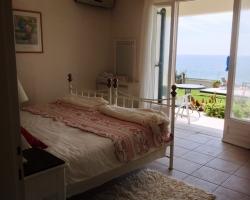 Schlafzimmer - Korfu Villa Seepferdchen, Chalikounas, Korfu, Griechenland, KorfuCorfu