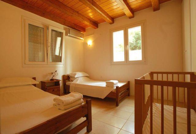 Zweibettzimmer - Korfu Ferienhaus Villa Aphrodite, Agios Ioannis, Korfu