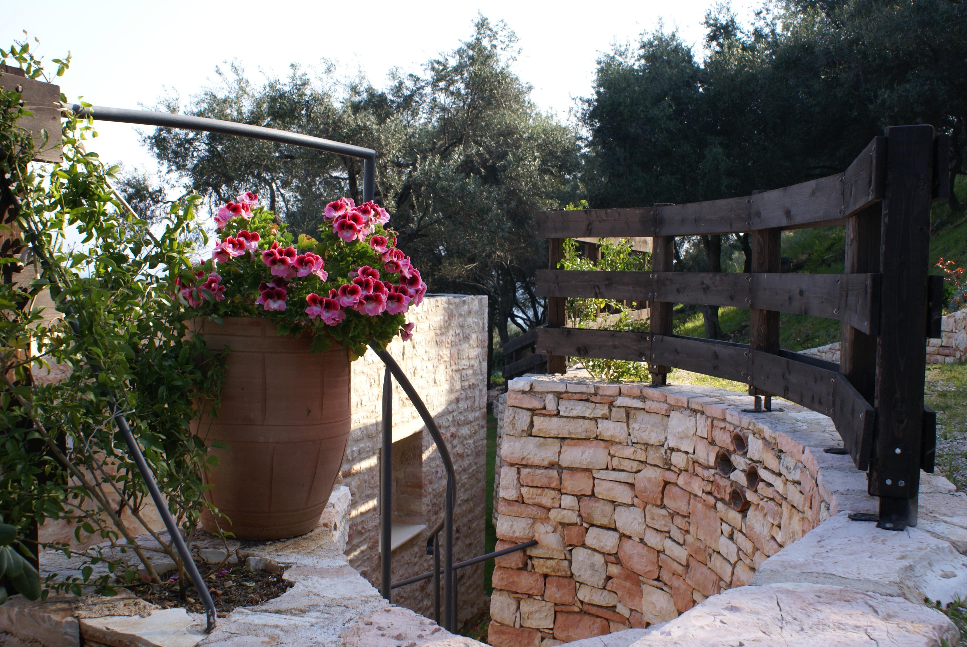 Eingang - Korfu Villa Steilküste, Agios Spiridon, Korfu, Griechenland