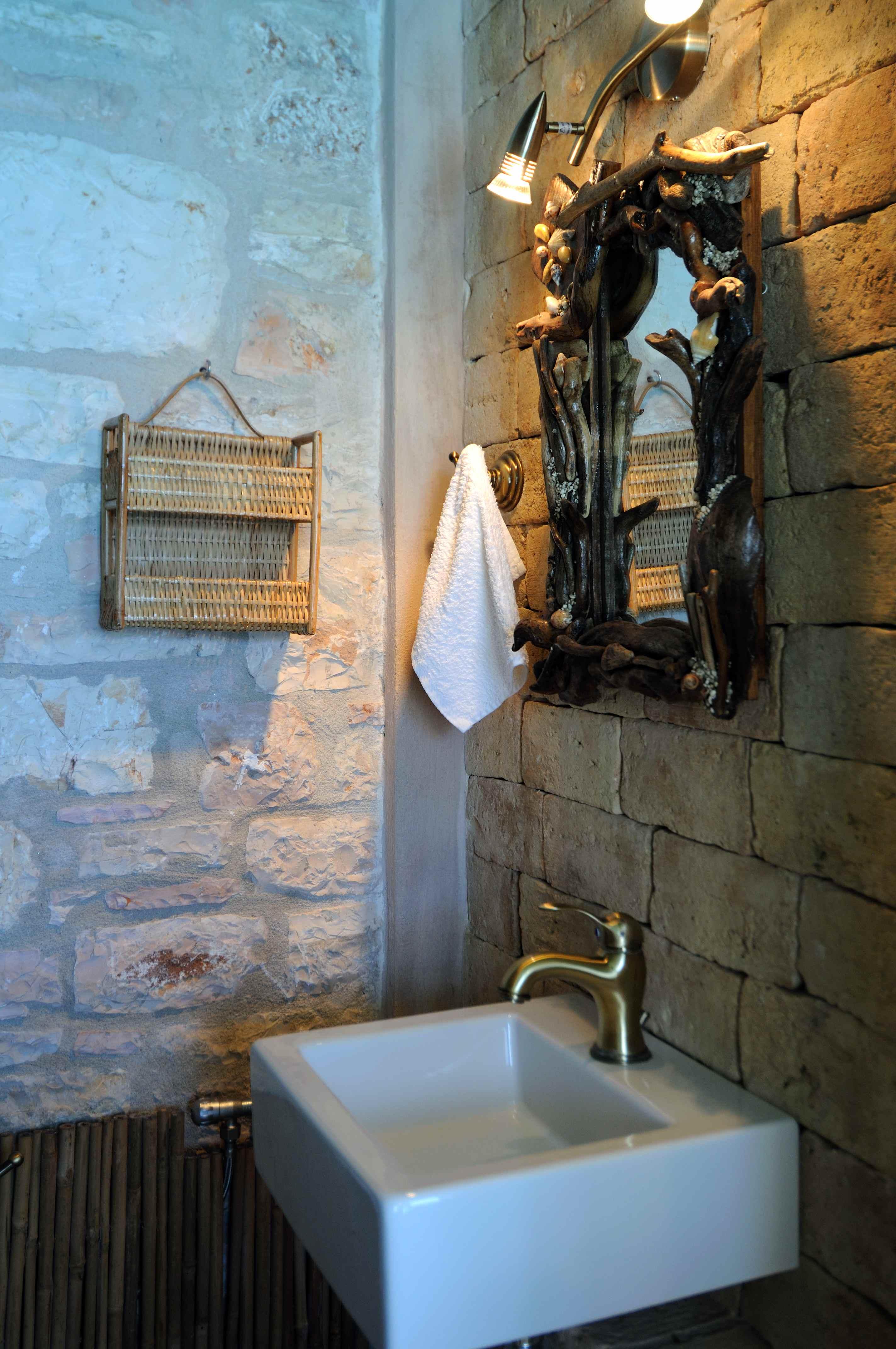 Gäste-WC - Korfu Villa Steilküste, Agios Spiridon, Korfu, Griechenland