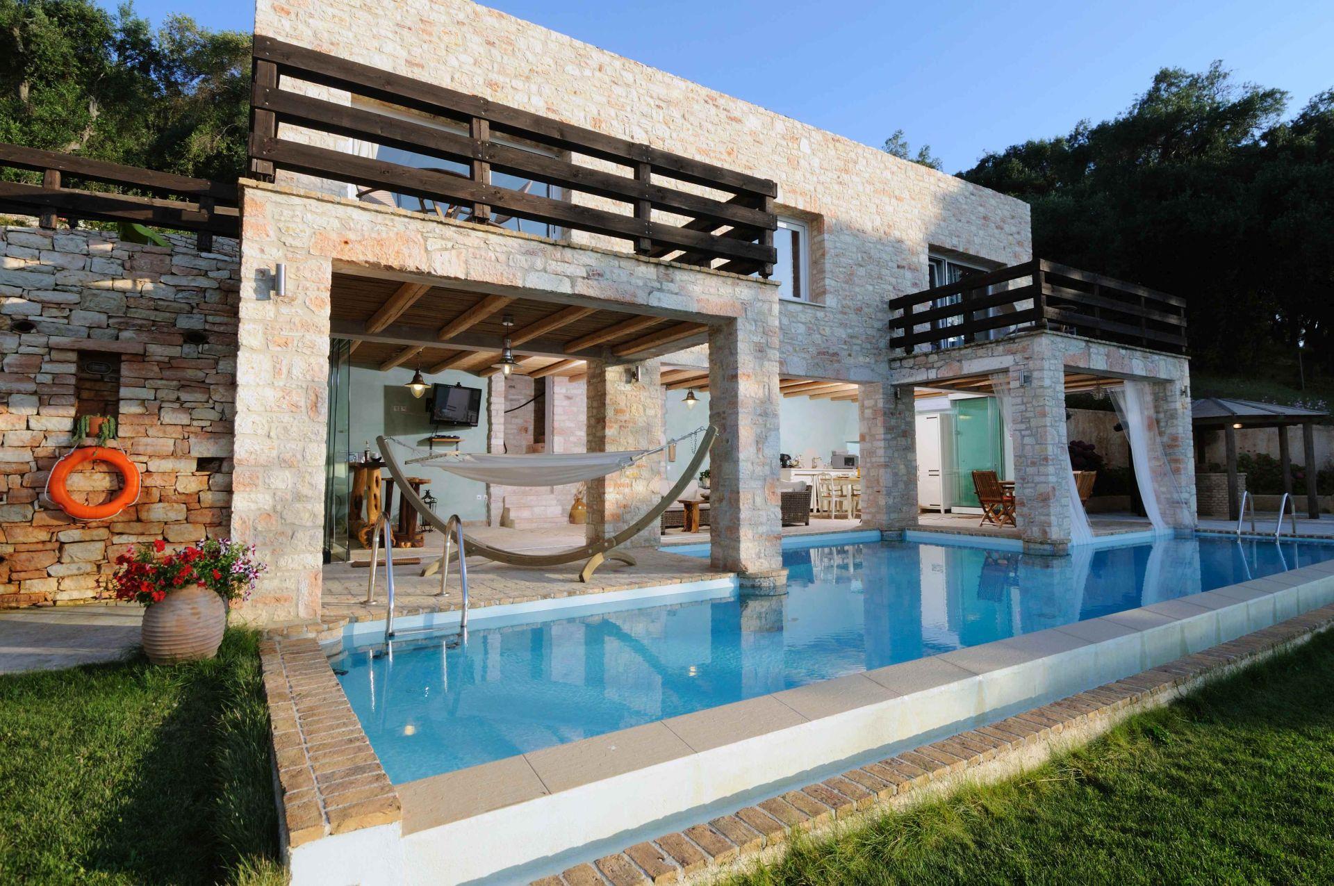Gesamteindruck - Korfu Villa Steilküste, Agios Spiridon, Korfu, Griechenland