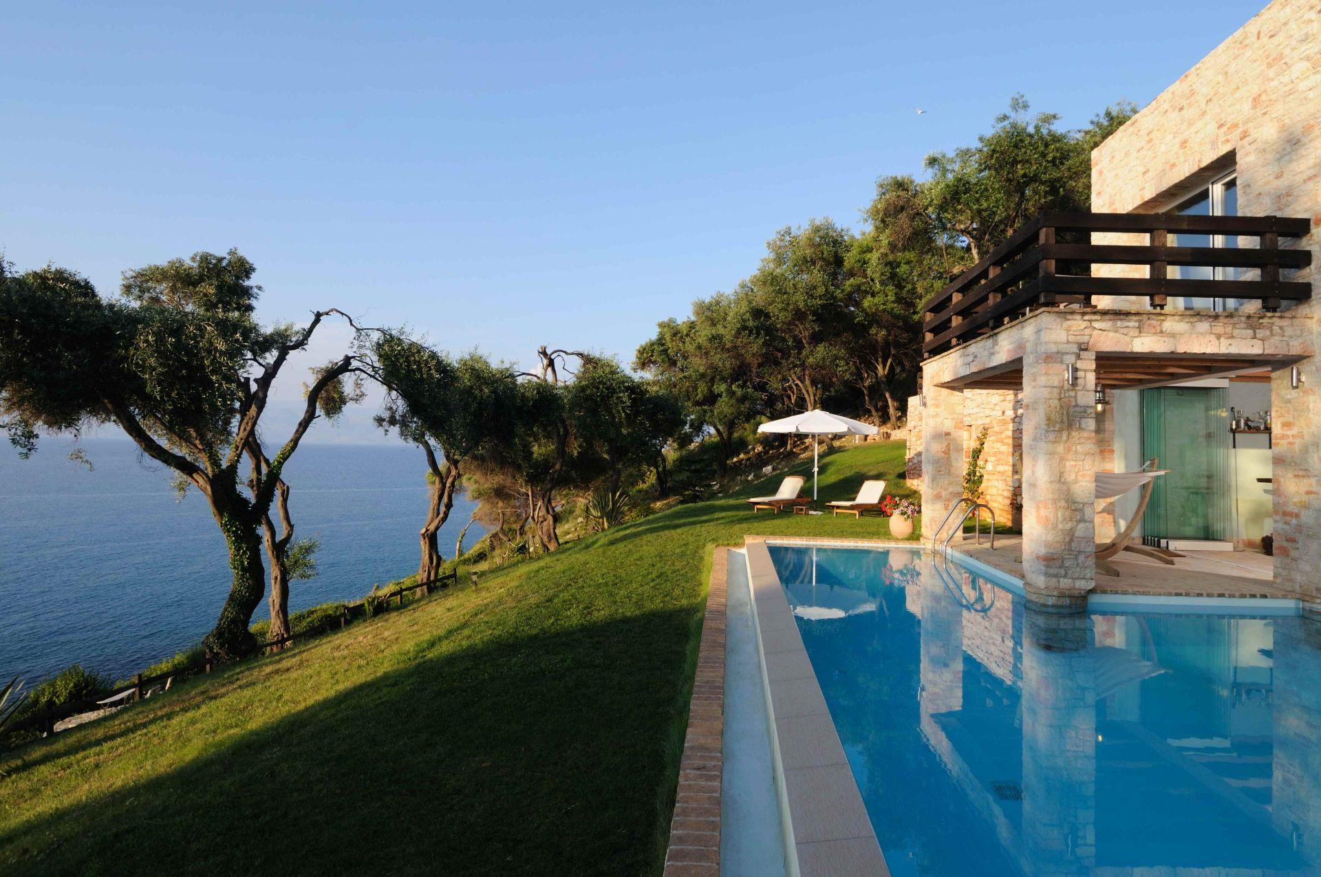 Pool - Korfu Villa Steilküste, Agios Spiridon, Korfu, Griechenland