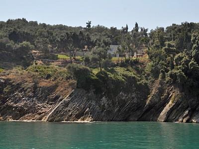 Steilküste Strand - Korfu Villa Steilküste, Agios Spiridon, Korfu, Griechenland