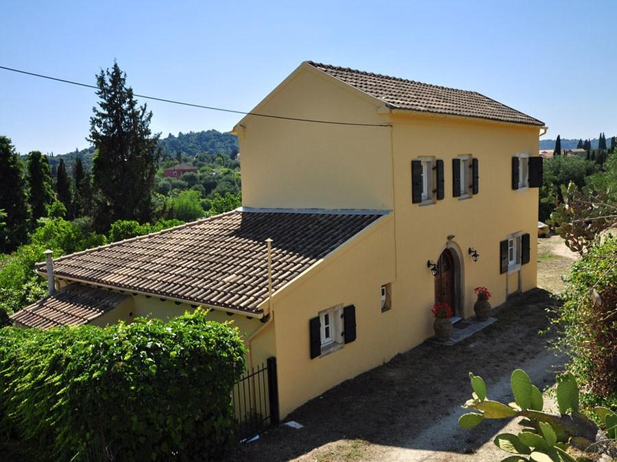 Korfu Villa Theodora, Agios Ioannis, Triklino, Korfu, Griechenland, KorfuCorfu.de