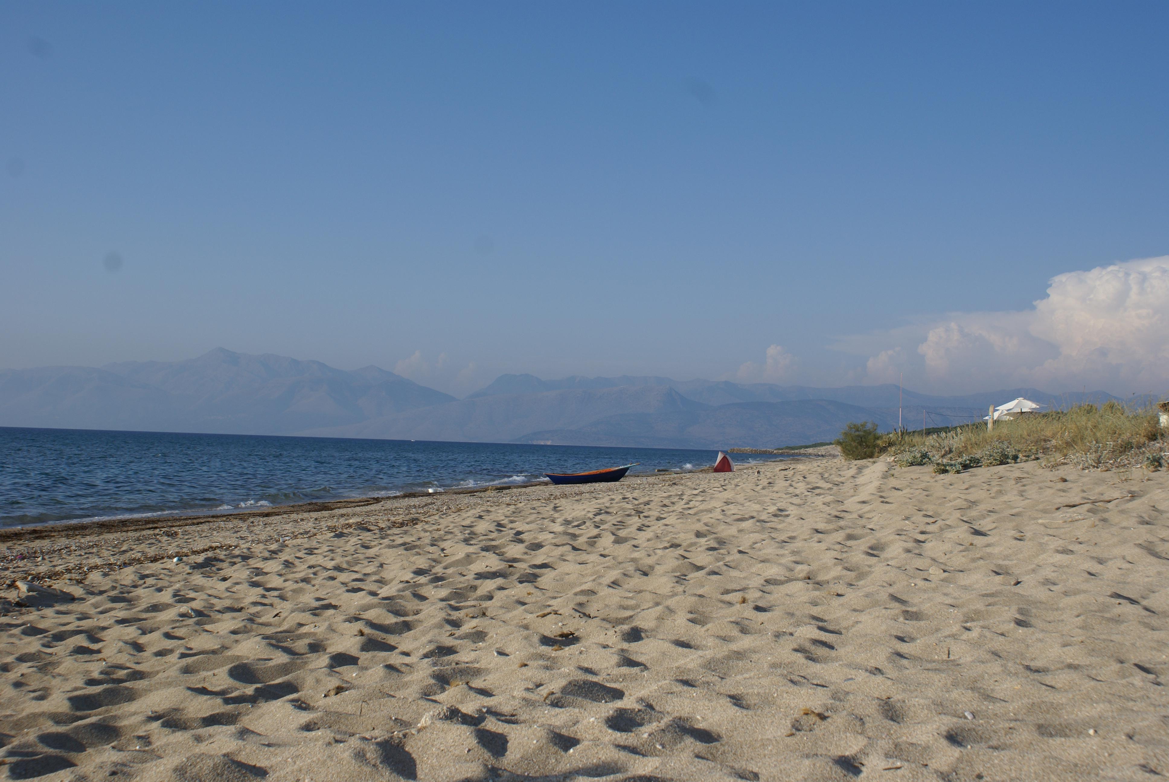 Strand von Almiros, Korfu, Griechenland, KorfuCorfu.de