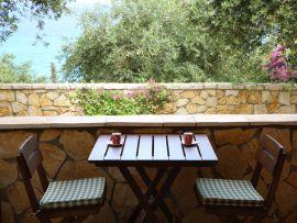 Veranda - Bungalow 2, Korfu Villen Thalia, Agios Spiridon, Korfu, Griechenland, KorfuCorfu.de