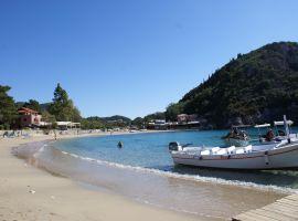 Eine der Buchten von Paleokastritsa, Korfu Ferienhaus Spiti Ute, Korfu, Griechenland