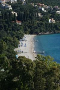Strand von Barbati, Korfu, Griechenland in der Nähe der Korfu Luxusvilla Dominicale, KorfuCorfu