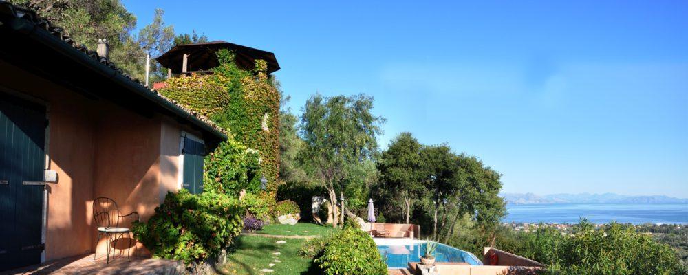Korfu Luxusvilla Villa Melolia - Super Sommer Angebot, KorfuCorfu.de